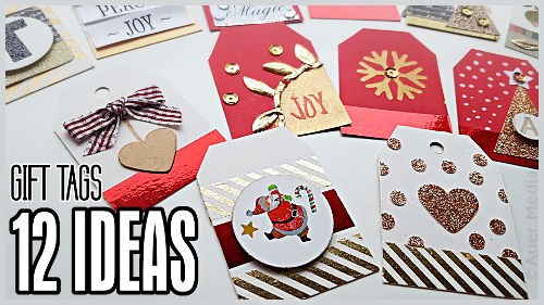 Gcc Diy Christmas Gift Tags 12 Simple Ideas