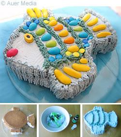 Birthday Cake Recipe on Birthday Fish Cakes